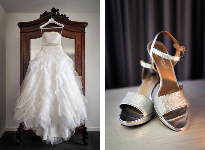fotos vestido sapatos noiva Hotel Vila De Obidos Casamento preparativos