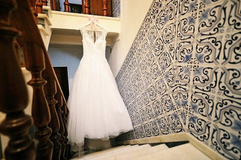 04 Vestido de Noiva em Casamento no Alentejo