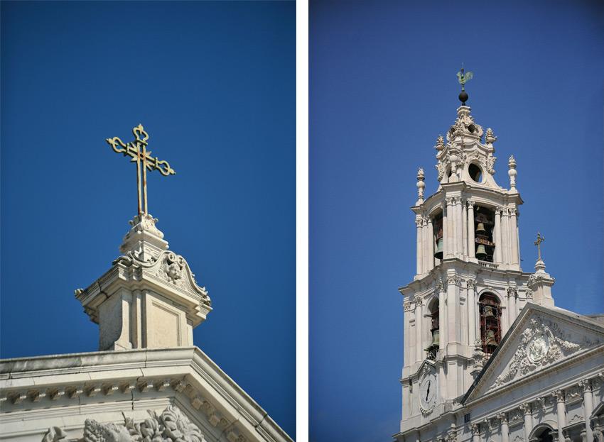 02 casamento na Basilica de Mafra detalhes torre sineira monumento