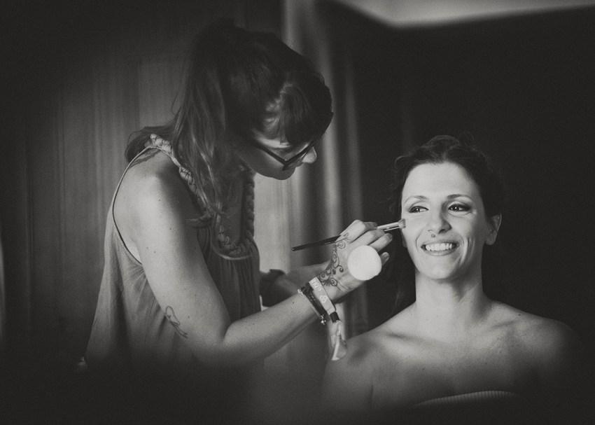 Casamento momento de preparativos da noiva makeup