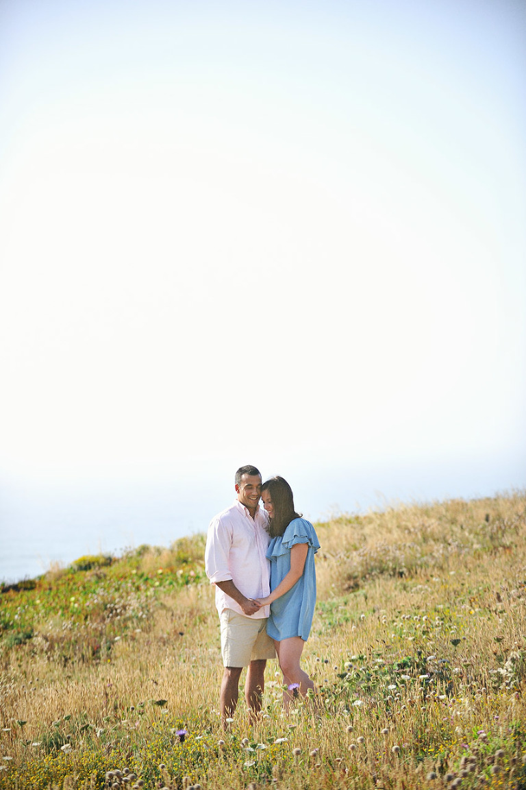 Cape Roca in Sintra - A Golden Light Engagement Shoot